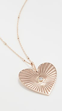 Zoe Chicco Medallion Necklace