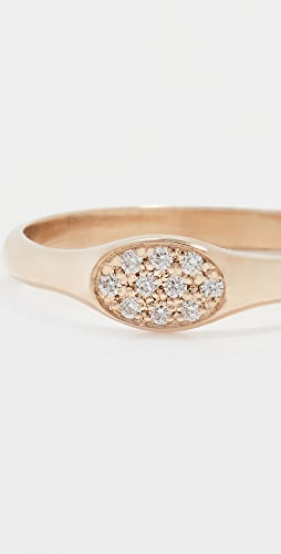 Zoe Chicco - Pave & Bead Set Diamonds Ring