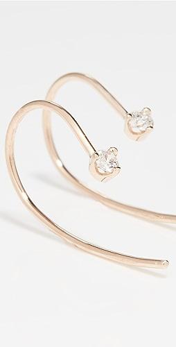 Zoe Chicco - Prong Diamonds Earrings