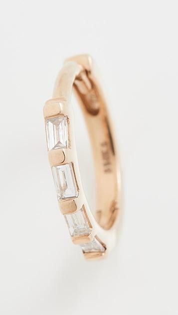 Zoe Chicco Baguette Diamonds Earrings