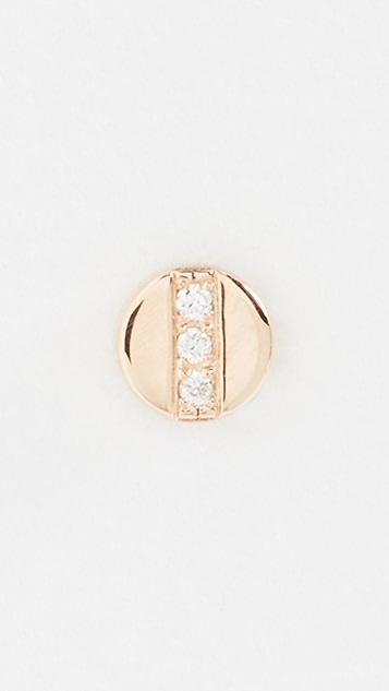 Zoe Chicco Gold Discs Earring