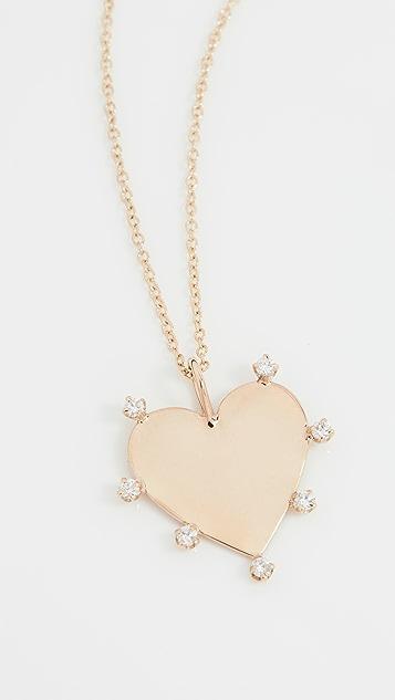 Zoe Chicco 爪镶钻石项链