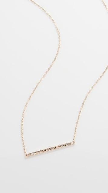 Zoe Chicco Baguette Diamonds Necklace