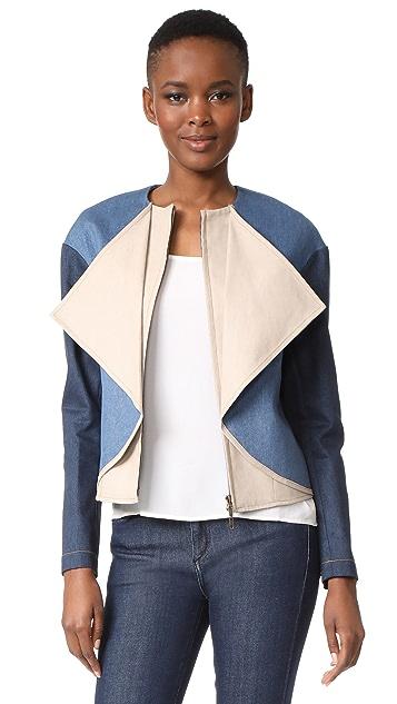 Zero + Maria Cornejo Crop Ora Jacket
