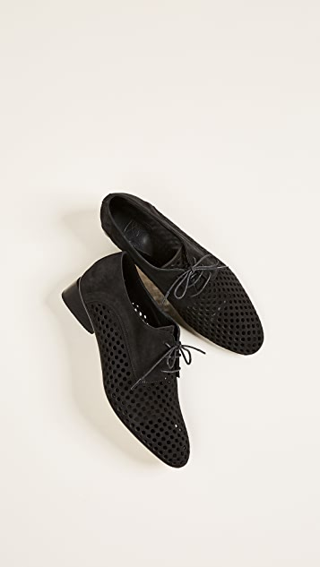 Zero + Maria Cornejo Bowie Perforated Loafers