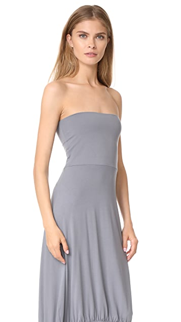 Zero + Maria Cornejo Strapless Bubalou Dress