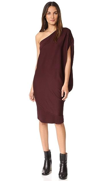 Zero + Maria Cornejo Off Shoulder Lui Dress