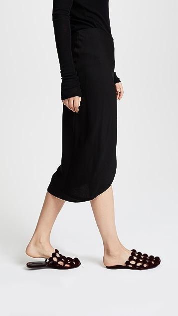 Zero + Maria Cornejo Slim Lui Skirt