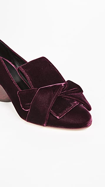 Zero + Maria Cornejo Sofilane Block Heel Pumps