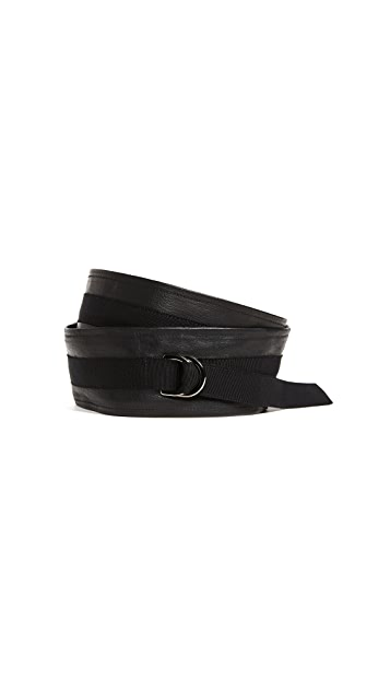 Zero + Maria Cornejo GOA Belt in Torino Leather