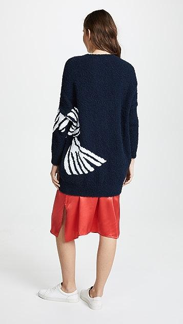 Zero + Maria Cornejo Bow Coat