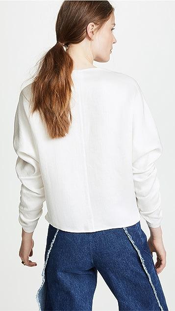 Zero + Maria Cornejo Long Sleeve Clio Top
