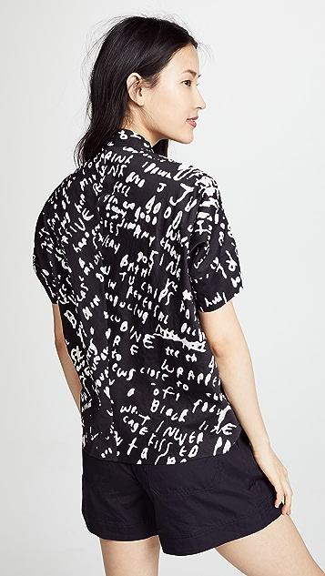 Zero + Maria Cornejo Concave Shirt
