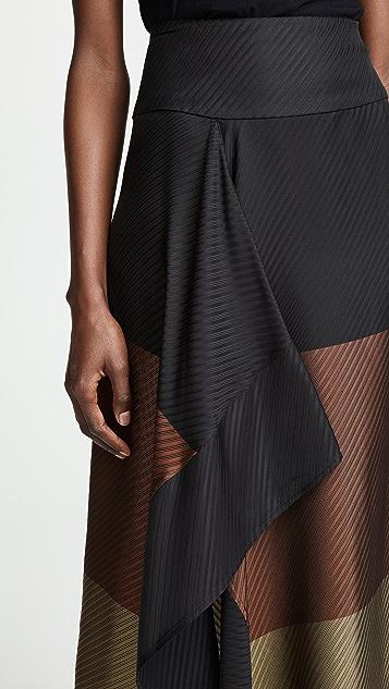 Zero + Maria Cornejo Ero Ruffle Skirt