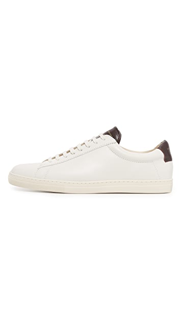 Zespa ZSP 4 Colorblock Leather Sneakers