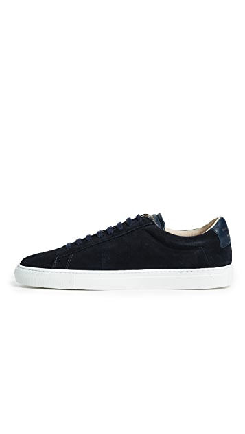 Zespa ZSP4 Suede Leather Sneakers