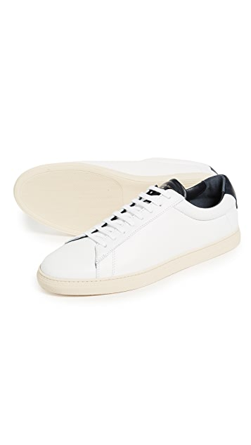 Zespa ZSP4 Leather Sneakers