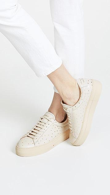 Zespa Laceup Platform Sneakers