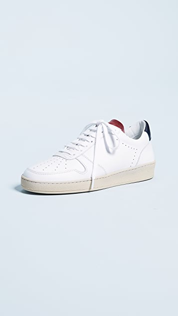 Zespa Laceup Sneakers - White/Gum