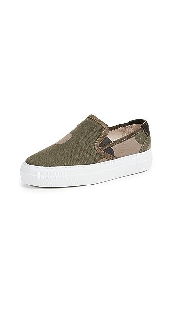 Zespa Slipon Camo Sneakers