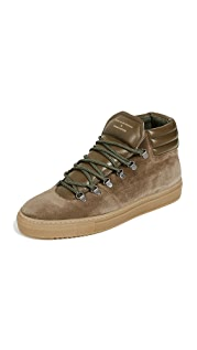 Zespa Suede Hiker Sneakers