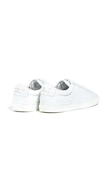 Zespa Leather Low Top Sneakers