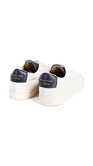 Zespa Suede Low Top Sneakers