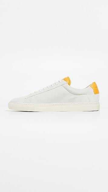 Zespa Suede Low Top Sneakers