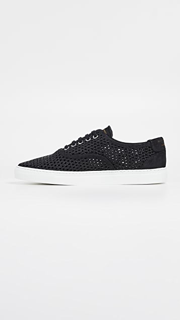 Zespa ZSP8  Nubuck Low Top Sneakers