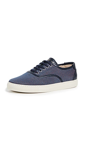 Zespa Cotton Jacquard Low Top Sneakers