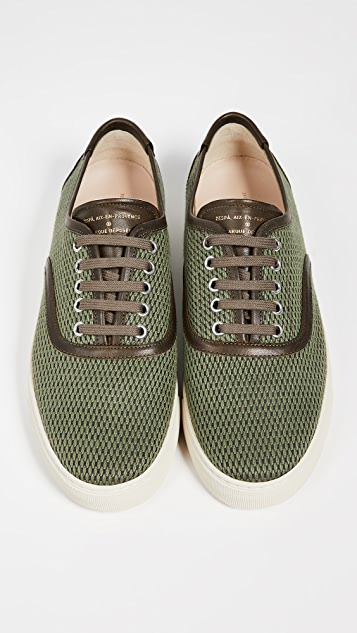 Zespa ZSP8 Cotton Jacquard Low Top Sneakers