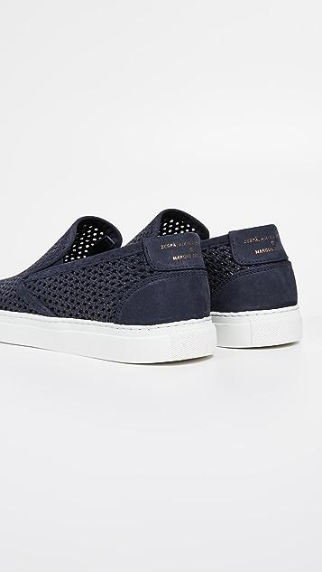 Zespa ZSP10 Nubuck Slip On Sneakers