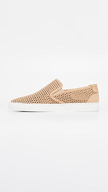 Zespa ZSP10 Perforated Slip On Sneakers