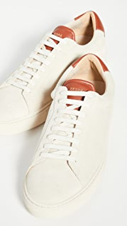 Zespa ZSP4 Suede Low Top Sneakers