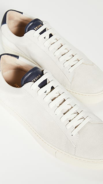 Zespa ZSP4 High Apla Suede Sneakers