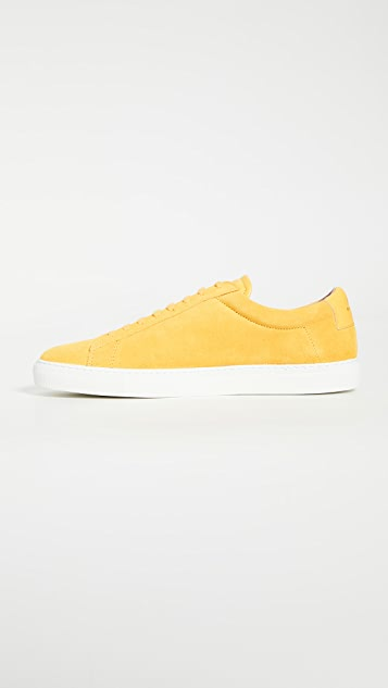 Zespa ZSP4 High Suede Sneakers