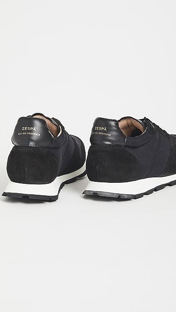 Zespa ZSP6N Monochrome Sneakers