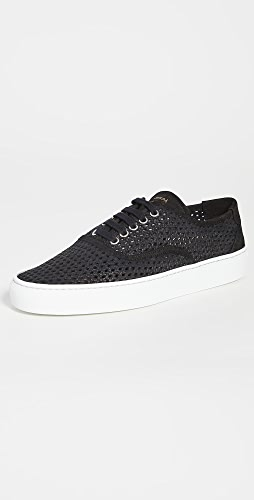Zespa - ZSP8 Perforated Nubuck Sneakers