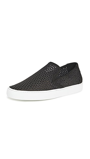 Zespa ZSP10 Perforated Nubuck Sneakers