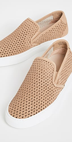 Zespa - ZSP10 Perforated Nubuck Sneakers
