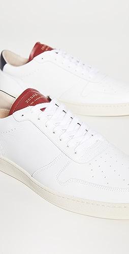 Zespa - Zsp23 Apla Nappa White Sneakers