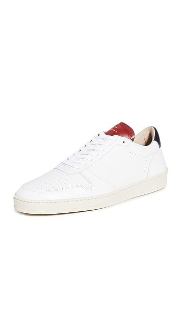 Zespa Zsp23 Apla Nappa White Sneakers