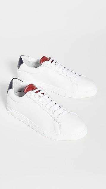 Zespa Zsp4 Apla Nappa White Sneakers