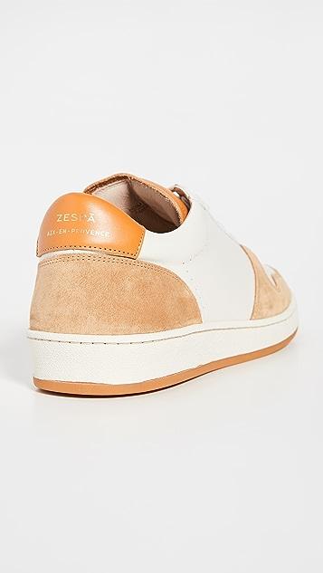 Zespa Zsp23 Nappa Sneakers