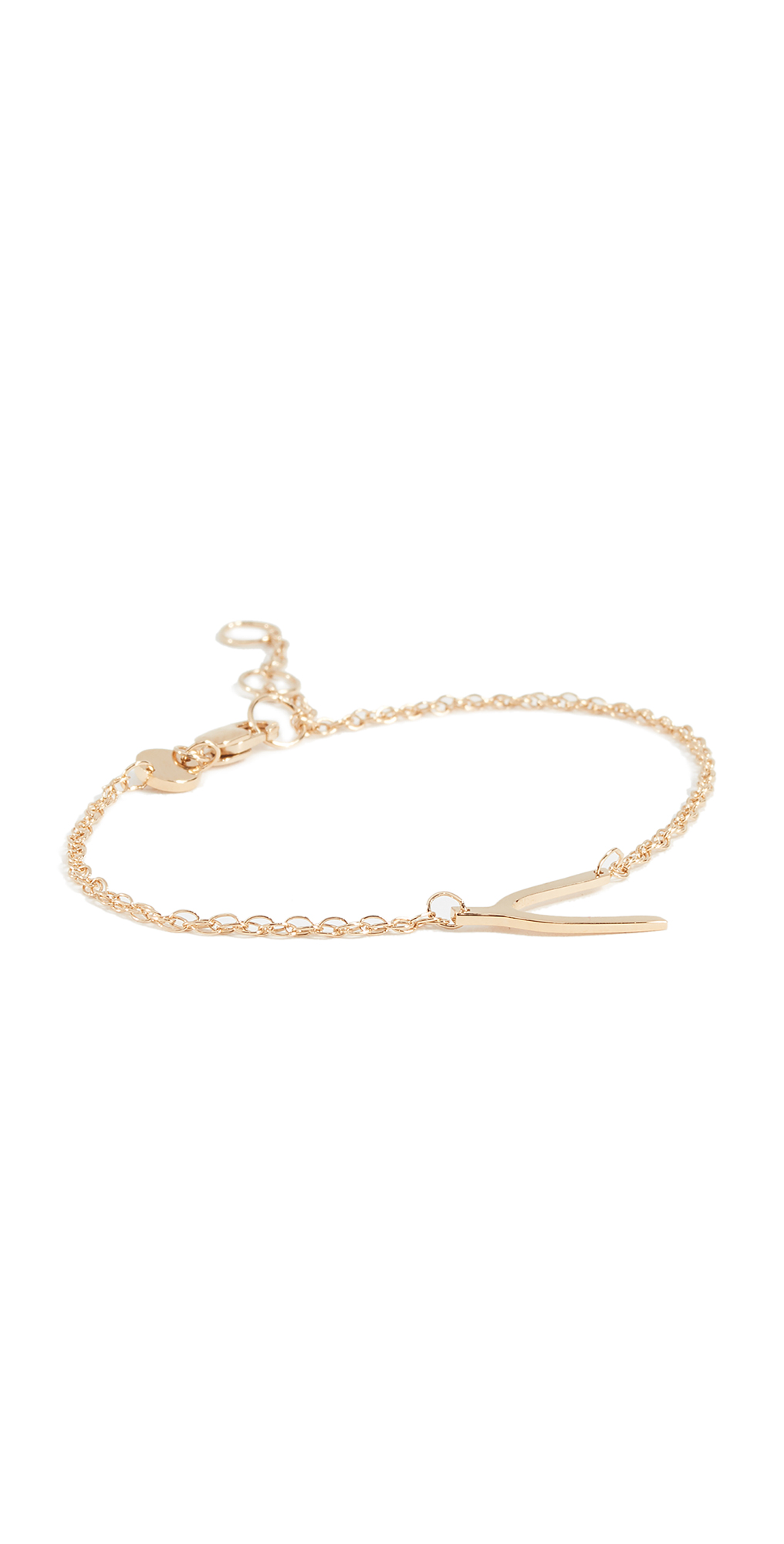 Mini Wishbone Bracelet
