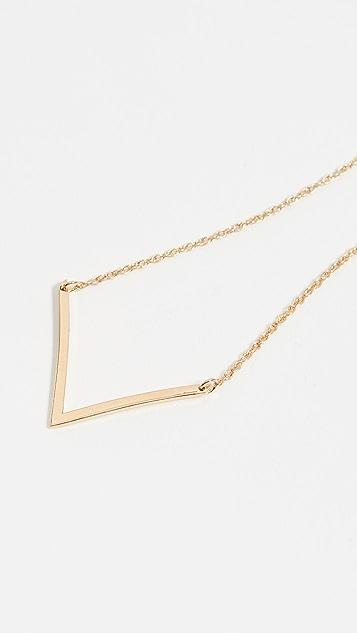 Jennifer Zeuner Jewelry Небольшое колье Bianca