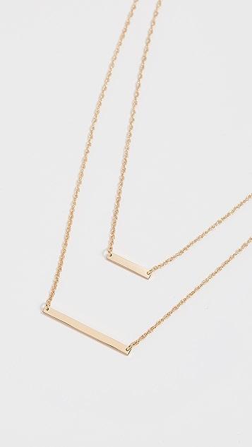 Jennifer Zeuner Jewelry Cynthia 项链