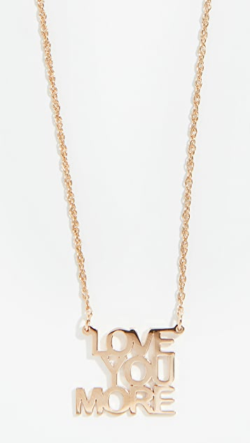 Jennifer Zeuner Jewelry Колье Love You More