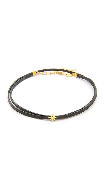 Jennifer Zeuner Jewelry Закрученное колье-ошейник Ivy Gia