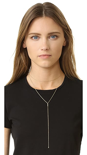 Jennifer Zeuner Jewelry Juliana Lariat Necklace